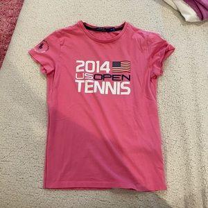 Pink US Open T shirt